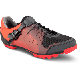 Cube MTB Peak Pro Shoes Unisex red'n'black